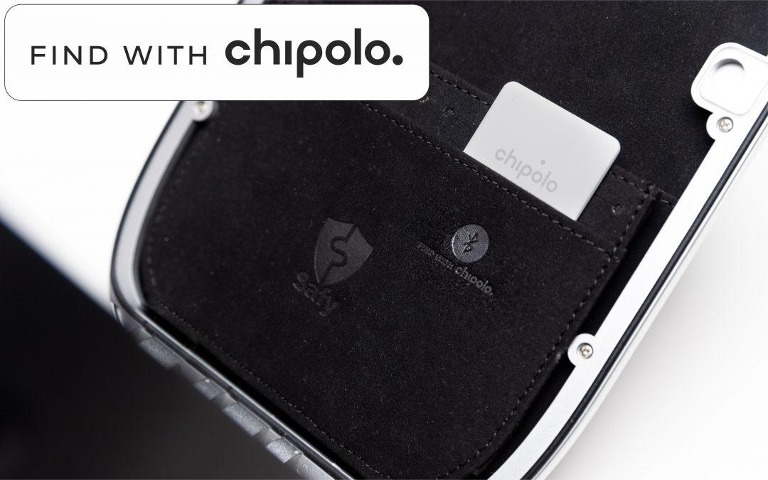 Find your Safy with Chipolo Bluetooth tracker